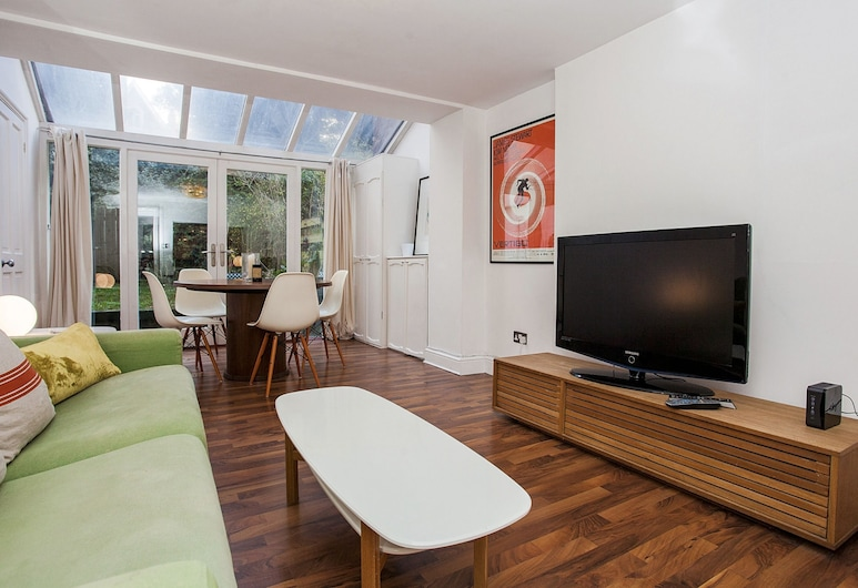 Modern 2 Bed Garden Flat, St Johns Wood, London, Apartment, 2 Schlafzimmer, Wohnzimmer