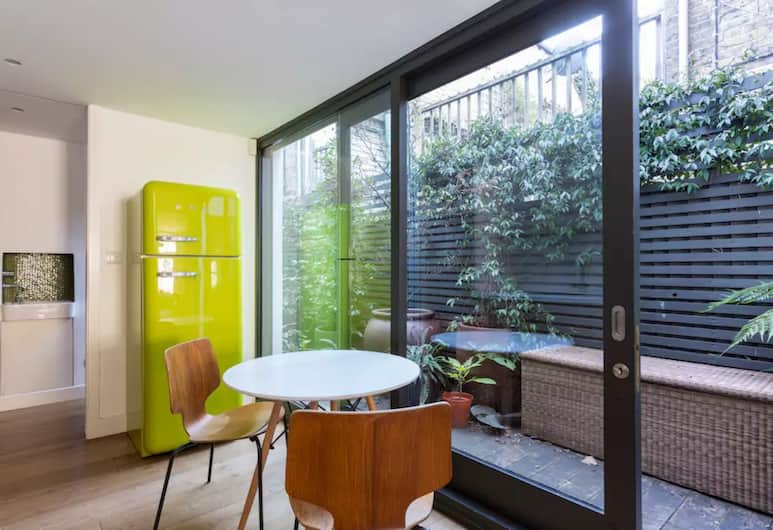 Lovely 3 Bedroom architect's house, London, Apartment, 4Schlafzimmer, Wohnbereich