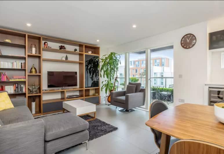 Central & Modern 2 Bedroom Old Street Flat, Londra, Apart Daire, 2 Yatak Odası, Oturma Alanı