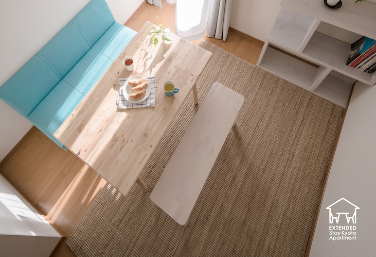 EXTENDED Stay Kyoto Apartment, Kyoto, Comfort Studio, 1 Bedroom, Kitchenette, City View, Living Room