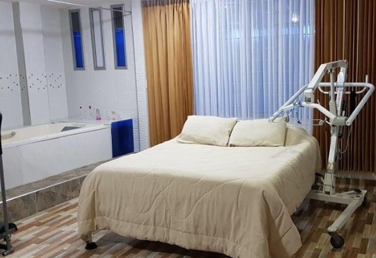 Hotel Siloe, Флореста, Улучшенный номер, для людей с ограниченными возможностями, гидромассажная ванна, Номер
