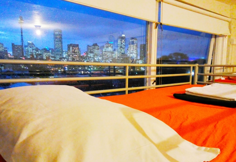 Asylum Sydney Backpackers Hostel, Woolloomooloo, Vista desde el hotel