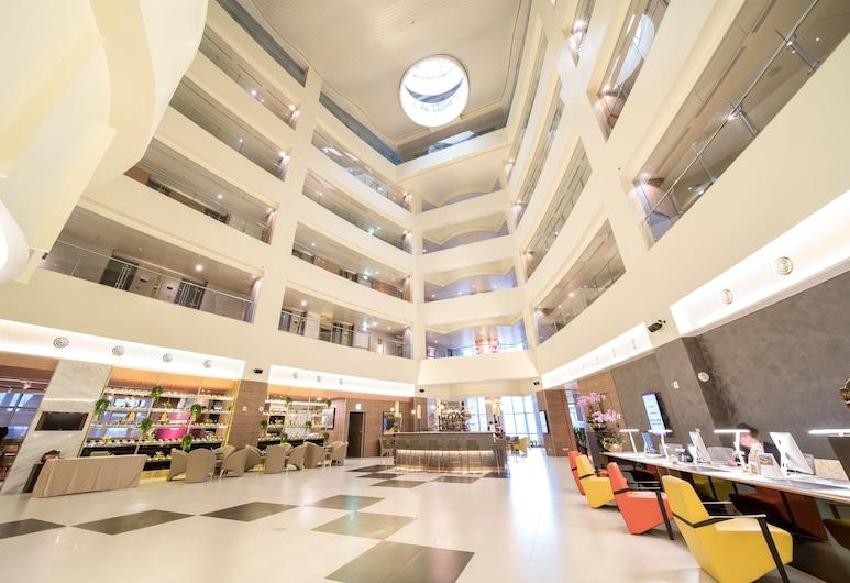 AJ Hotel Hsinchu, Zhubei, Фойє