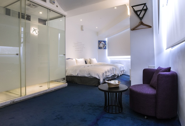 Time Flyer Hotel, Taichung, Standard Triple Room, Guest Room