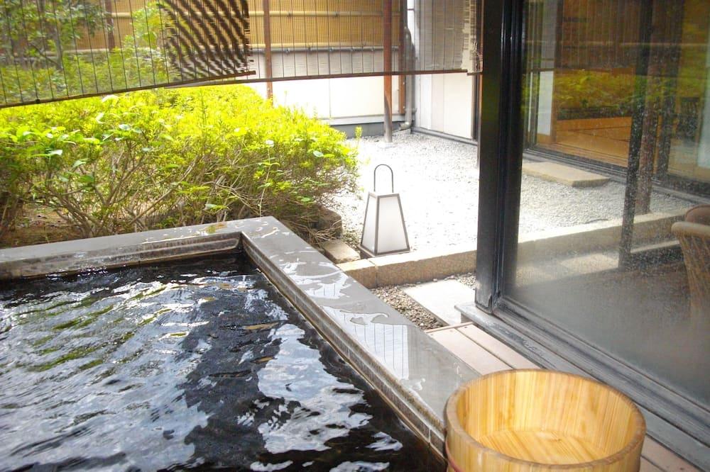 Tradicinio tipo kambarys, Nerūkantiesiems (Japanese Style, with Open-air Bath) - Svečių kambarys