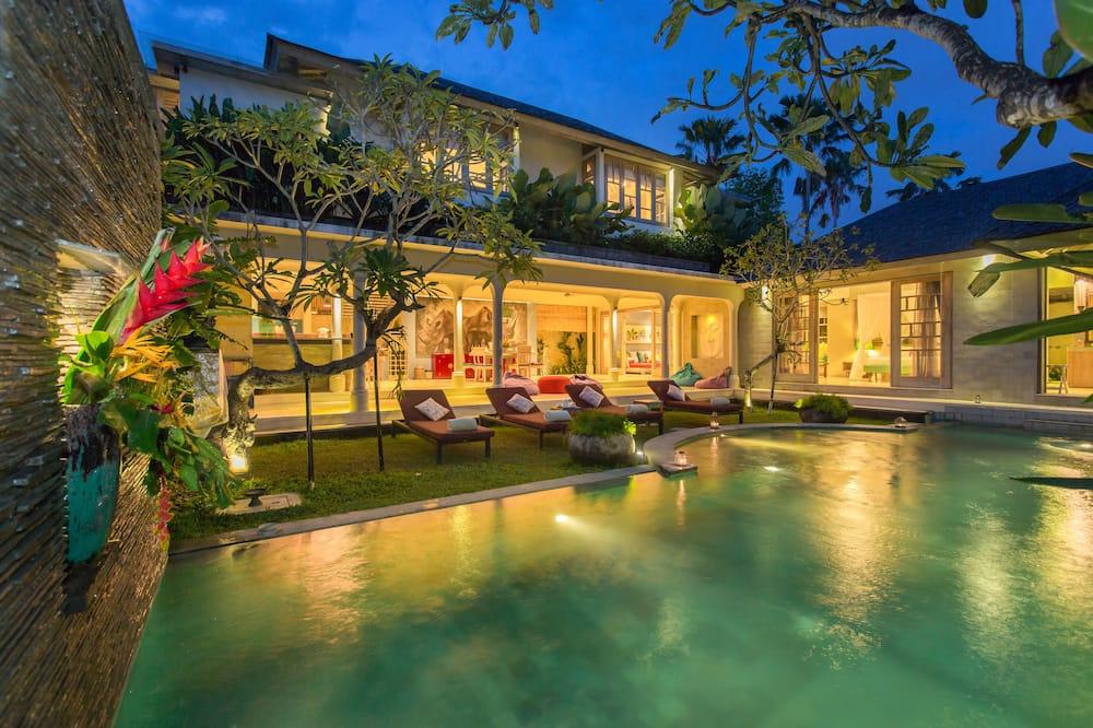 Luxury-Villa, 2Schlafzimmer, eigener Pool, Gartenblick - Privatpool
