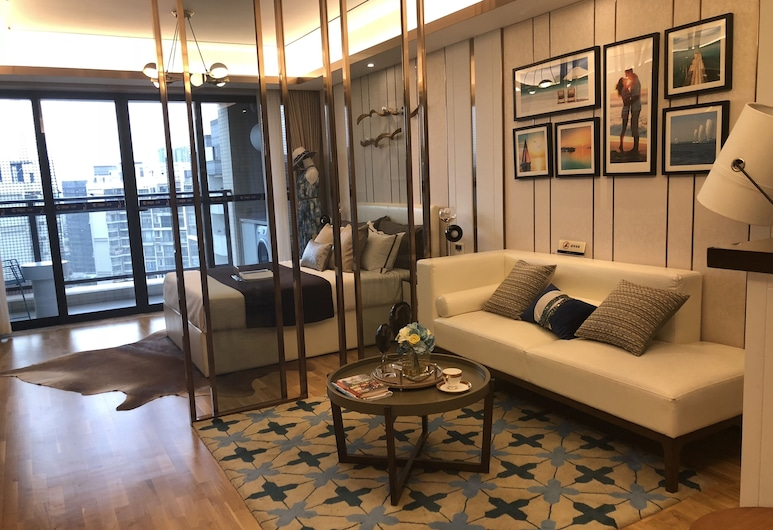 Shen Gang Executive Apartment-Airport, Shenzhen, Executive Apartment, 2 Bedrooms, Guest Room