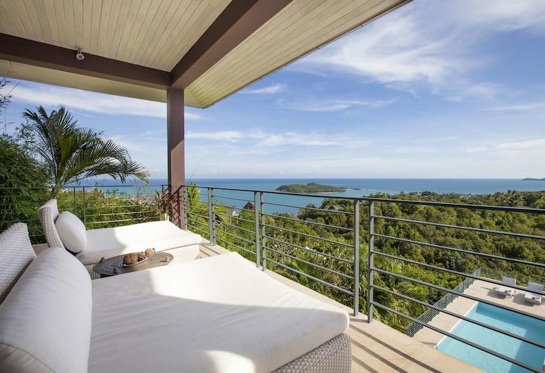 班凡瑙伊酒店, 蘇梅島, 奢華別墅, 陽台