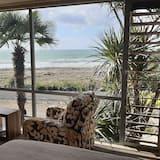 Apartament luksusowy typu Studio, Łóżko queen, balkon, widok na plażę - Pokój