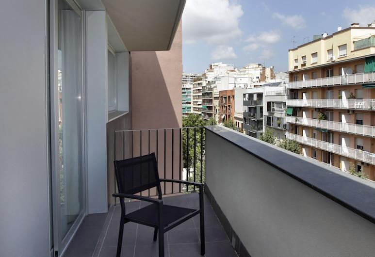 Fisa Rentals Les Corts Apartments, Barcelona, Apartamento superior, 1 quarto, Varanda
