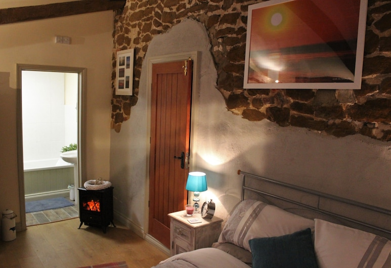 Norfolk Coast B&B Cottages and Camping, King's Lynn, Doppia Romantica, 1 letto matrimoniale, sul cortile, Camera