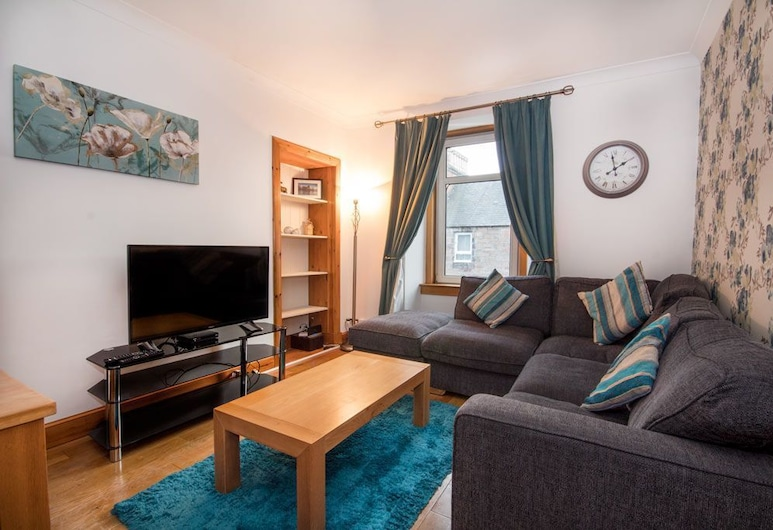 No30 Tomnahurich Street Apartment, Inverness, Cottage, Living Area