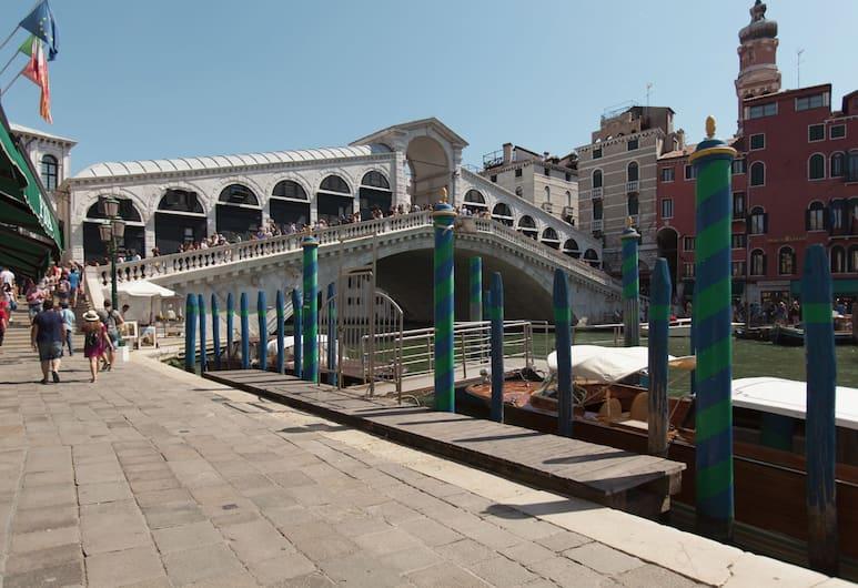Ca' Riolfo, Venice, Výhled ze zařízení