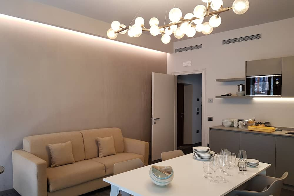 Apartment (Large) - Living Area