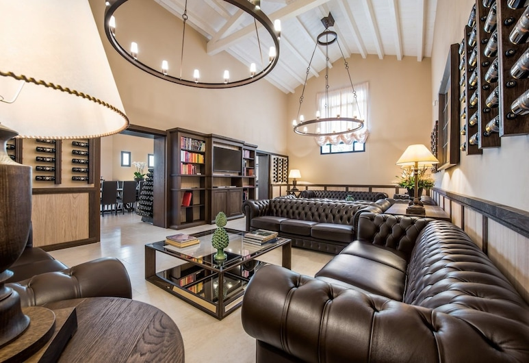 Baglio Sorìa Resort & Wine Experience, Trapani, Sitteområde i lobbyen