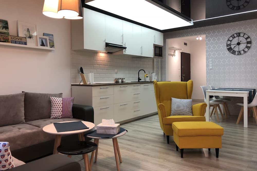 Apartmán (MOLO) - Obývačka