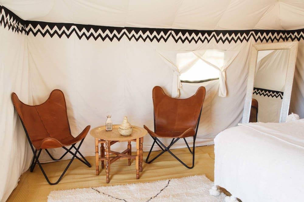 奢華帳篷 - 客廳