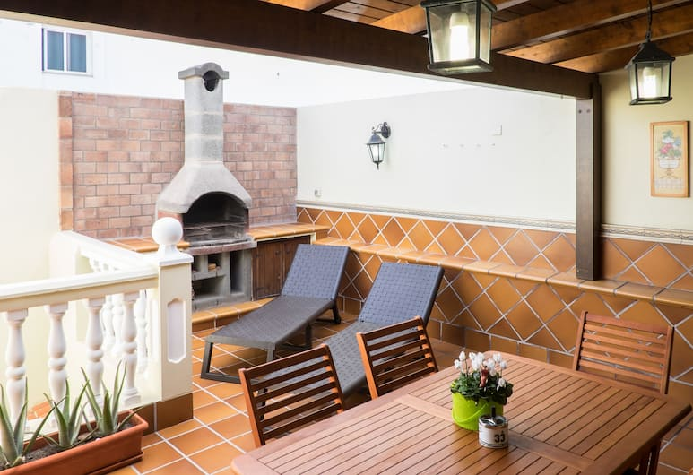 Apartamento Hubara Parda, La Oliva, Duplex – comfort, 3 soverom, terrasse, Terrasse/veranda