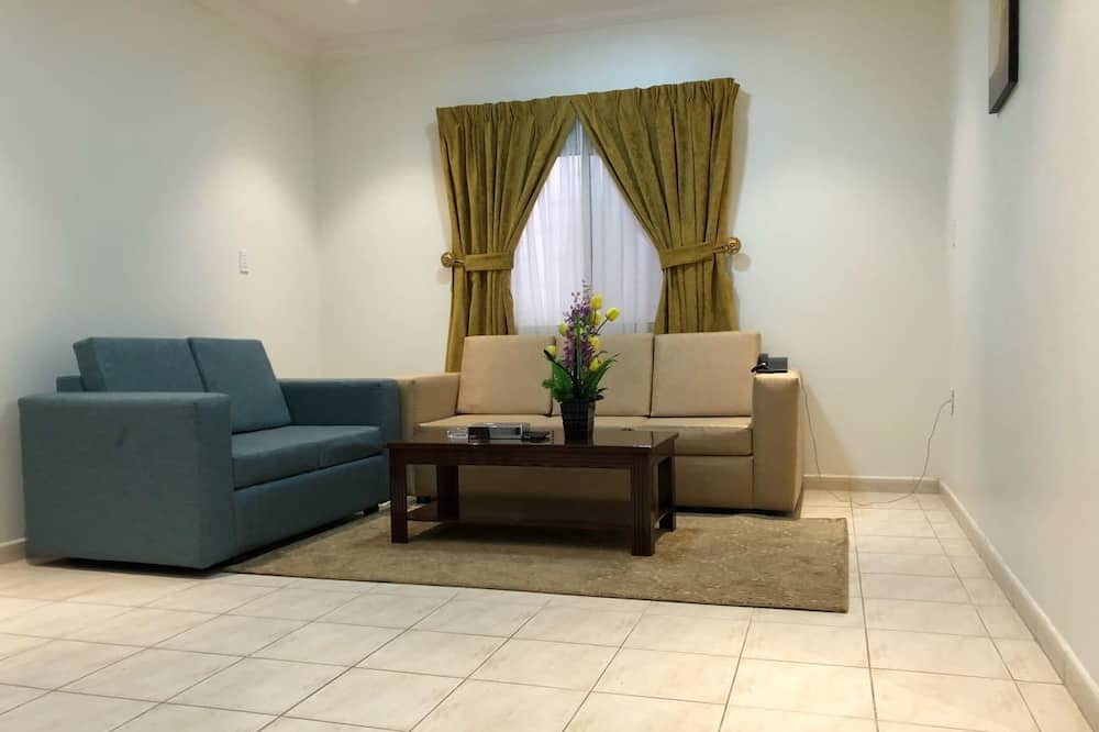 Сімейні апартаменти, 2 спальні - Вітальня