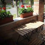 Habitación cuádruple familiar, 1 habitación - Terraza o patio
