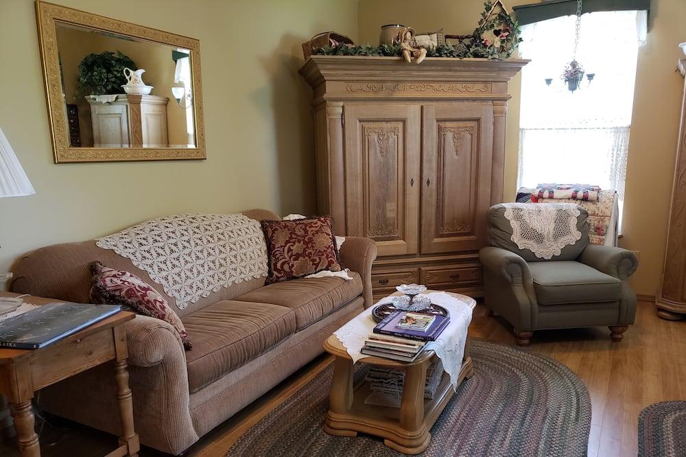 Paaugstināta komforta numurs, viena guļamistaba, skats uz ezeru - Numura ēdamzona