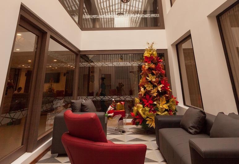 Hotel Plaza Carnaval, San Juan de Pasto, Lobby Sitting Area