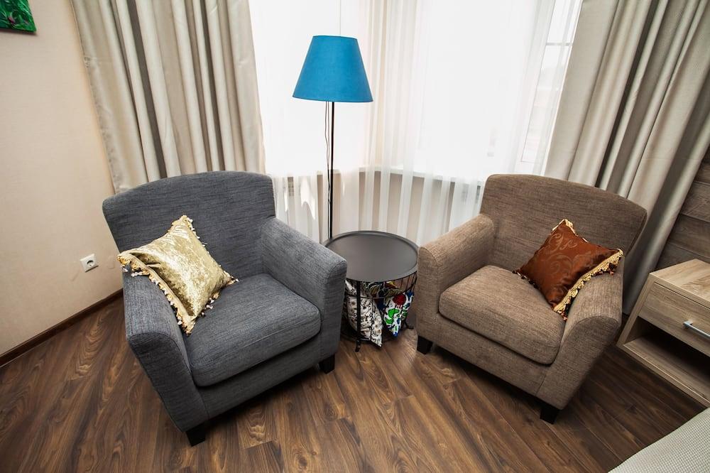 Superior Double Room - Ruang Tamu