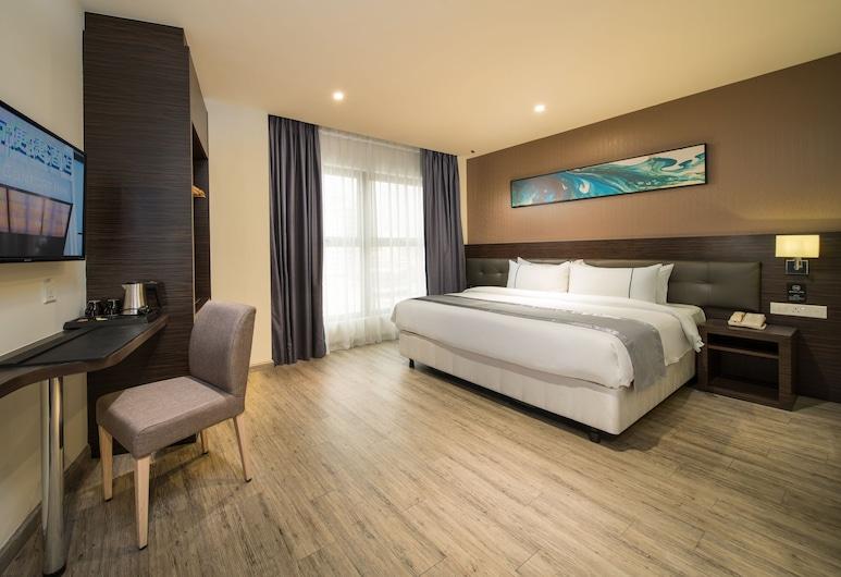 城市便捷酒店吉隆坡市中心店, 吉隆坡, 雙人房, 1 張特大雙人床, 客房
