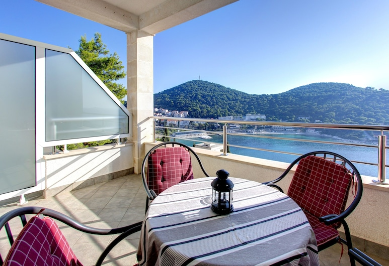 Villa Katarina 2, Dubrovnik, Apartamento, 1 quarto, Sacada, Vista para o mar (Supreme), Terraço/pátio