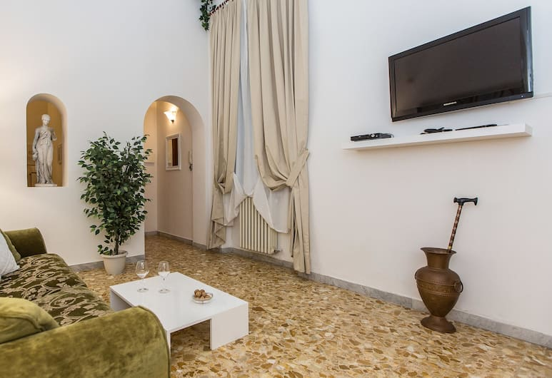 Rental In Rome Milazzo, Rom, Wohnbereich