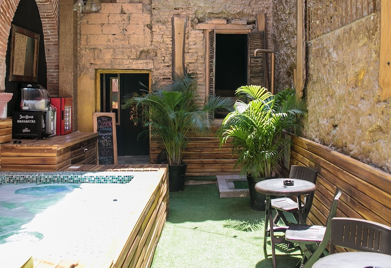The Clock Hostel And Suites, Cartagena, Terrace/Patio