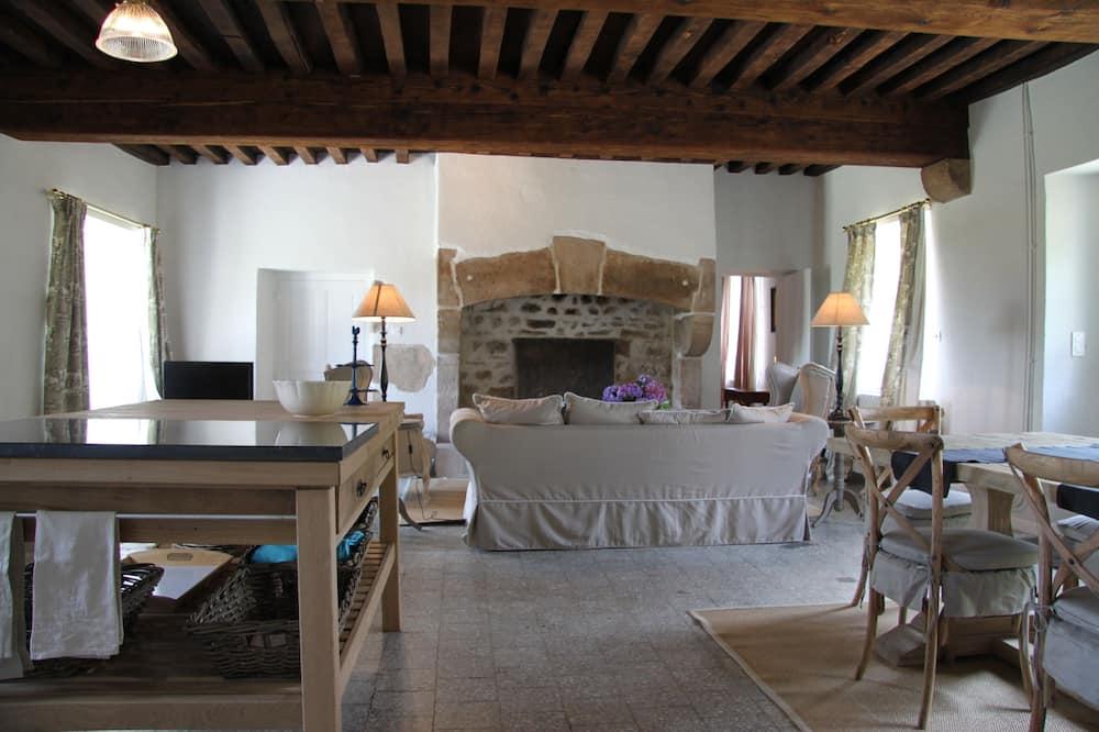 Cottage Klasik, 3 kamar tidur, non-smoking, pemandangan lembah - Area Keluarga