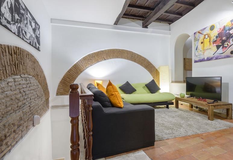 Casa Ginevra, Rom, Lägenhet Superior - 1 sovrum, Vardagsrum