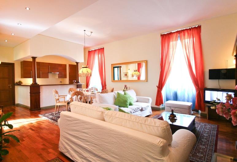 Rental In Rome Corso Vittorio, Roma, Appartamento, 3 camere da letto, Area soggiorno