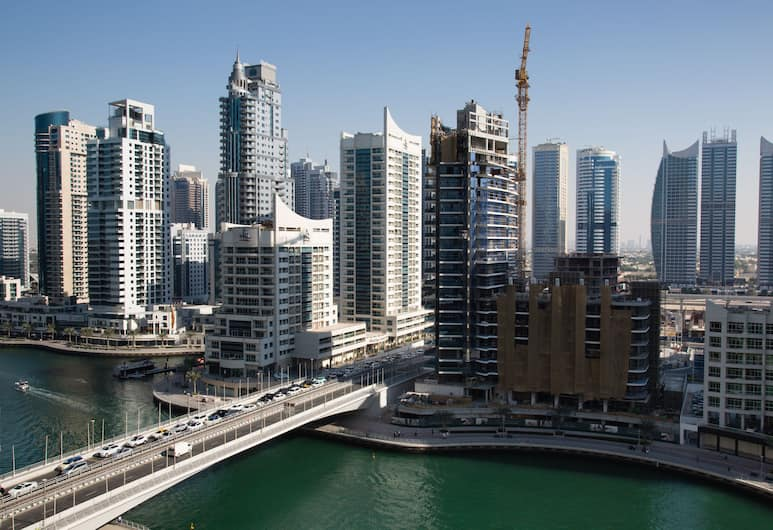 HiGuests Vacation Homes - Continental, Dubajus, apartamentai, 1 miegamasis, Vaizdas iš kambario