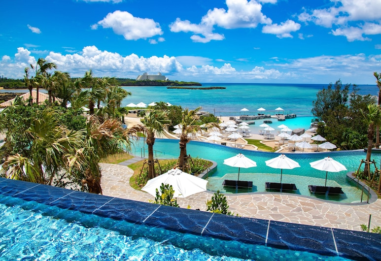 瀨良垣島沖繩凱悅飯店, 恩納, 室外游泳池