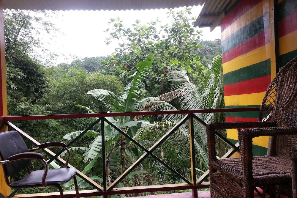 Comfort Duplex, 2 Bedrooms, Hill View, Mountainside - Balcony