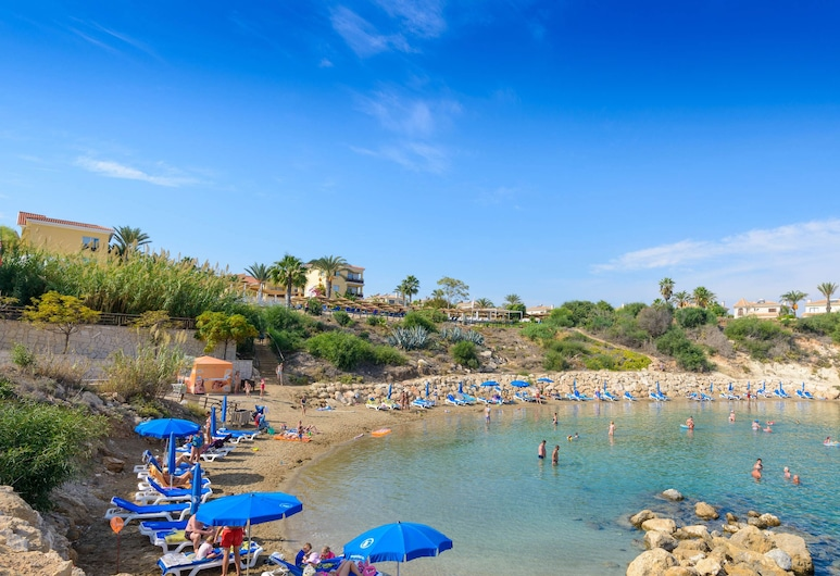 藍水別墅, 帕拉林尼, 海灘