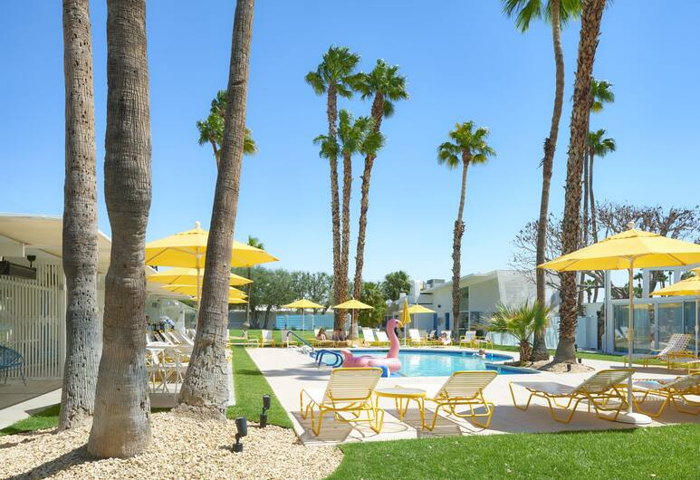 The Monkey Tree Hotel, Palm Springs, Single Room, 1 King Bed, Guest Room View