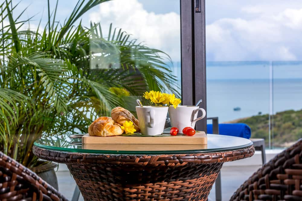 奢华别墅, 3 间卧室, 海滩景观 - 客房送餐