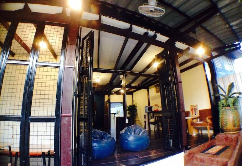 Viman Guesthouse - Hostel, Bangkok, Terrasse/Patio