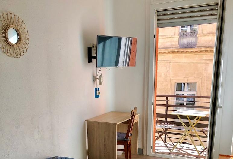 Hôtel Colisée Verdun, Montpellier, Toilettes communes, Chambre