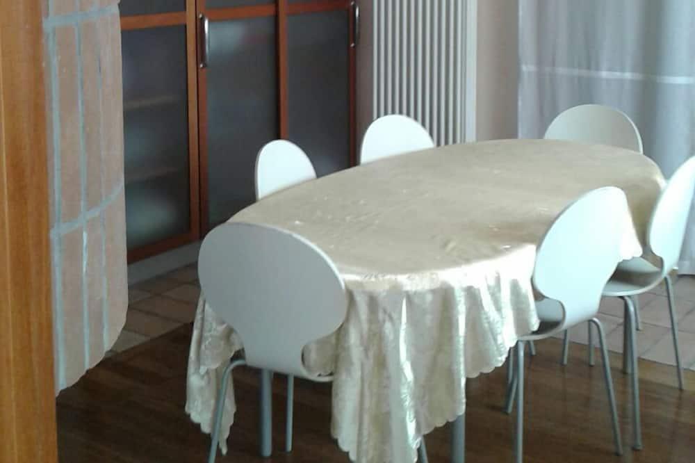 Kambarys su patogumais - Vakarienės kambaryje