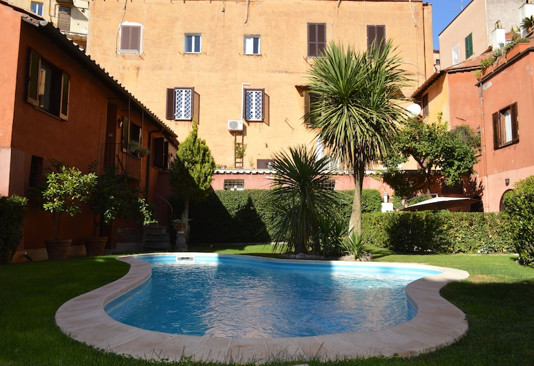 Blue Apartment Trastevere, Řím, Venkovní bazén