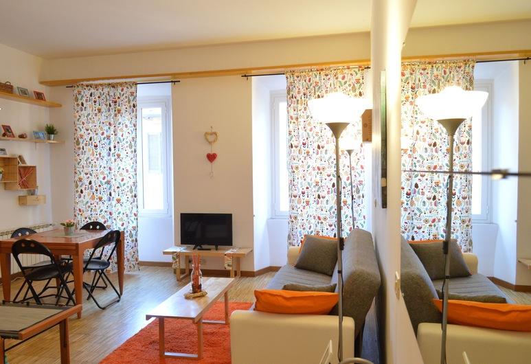 Trilussa Apartment Trastevere, Rome, Living Area