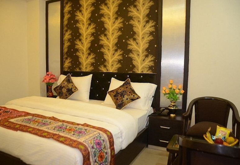 Hotel Blue Pearl, Paharganj, New Delhi, Superior Double or Twin Room, 1 Bedroom, Guest Room