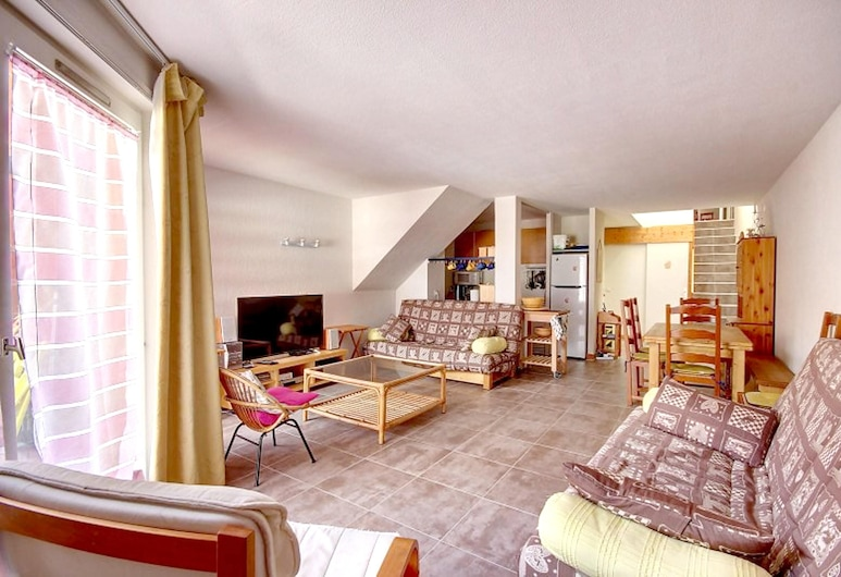Apartment With 3 Bedrooms in Saint-jean-d'aulps, With Wonderful Mountain View and Balcony - 50 m From the Slopes, Saint-Jean-d'Aulps, Stue