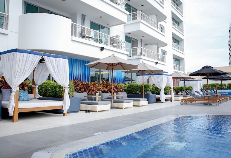 Shama Lakeview Asoke Bangkok, Bangkok, Kolam Renang Luar Ruangan