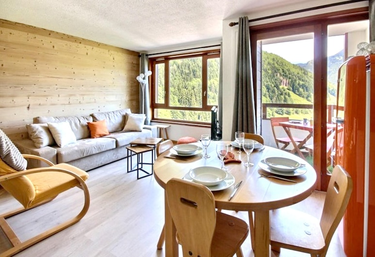 Apartment With one Bedroom in Saint-jean-d'aulps, With Wonderful Mountain View, Shared Pool and Balcony - 100 m From the Slopes, Saint-Jean-d'Aulps