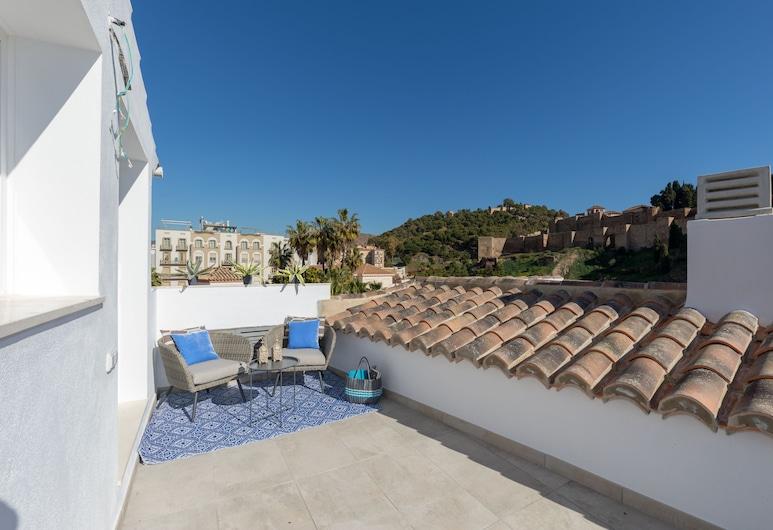 Soho Boutique Museo, Málaga, Duplex, 2 Bedrooms, Terrace, City View, Terrace/Patio